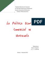 Ensayo - Politica Economica Comercial