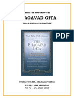 Gita Study Group Info - SRF Glendale