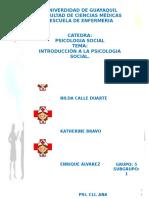 01 Introduccion a La Psicologia Social