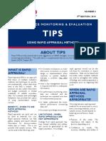 Rapid Appraisal Methods