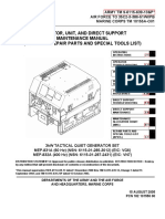 Mep 831a Operator Unit and Direct Support Maintenance Manual Including Repair Parts and Special Tools List Tm 9 6115 639 13p