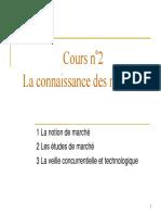 2 Connaissance Des Marches-Avec Corrige_2007