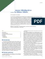 Anastomoses Biliodigestives Dans La Lithiase Biliaire
