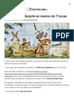 Cómo Leer El Quijote en Menos de 7 Horas - Lectura Ágil _ Lectura Ágil