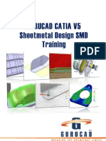 GURUCAD CATIA V5 Sheet Metal Design SMD Training De