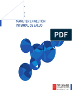 Magister Gestion Salud