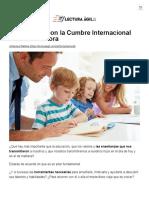 Lectura Ágil Con La Cumbre Internacional Padres de Ahora - Lectura Ágil _ Lectura Ágil