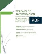 Trabajo Investigacion Evaluacion