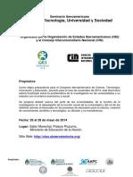 Programa seminario Iberoamericano de Ciencia tecnología sociedad y eduación OEA.pdf