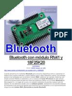 Bluetooth Con Módulo RN41 y 18F25K20