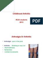 Childhood Arthritis