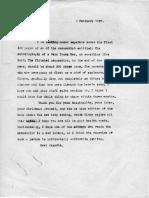 Eric Berne Letter to Henry Simon, 1957-02-09