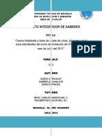 Proyectointegradoresdesaberesverdadero Copia 130731173503 Phpapp02