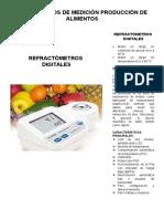 Instrumentos de Medicion - Electrica y de Prod. Alimentos