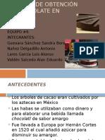 Presentacion Chocolate
