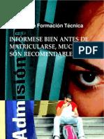 Calidad de los Centros de Formacion Técnica, investigación coordinada por Omar Pérez Santiago, Odecu 2006