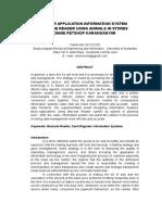 Cashier Application Information System
