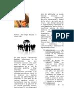 Concepto de administracion, usos, importancia, caracteristicas