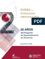 Elogio de La Pedagogia Universitaria (1)