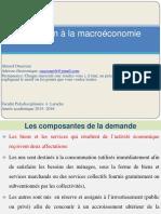 Initiation à La Macroéconomie Chapitre Consommation 1 PDF