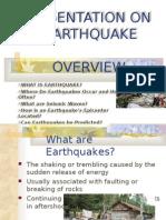 Ppt on Earthquake 1