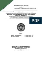 The Ethic of Auditing Function Dan Kode Etik IAPI