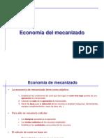 Economia Del Mecanizado