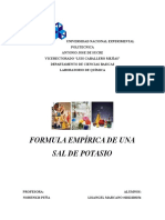 Informe Formula Empirica