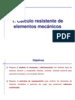 1. Cálculo Resistente de Elementos Mecánicos