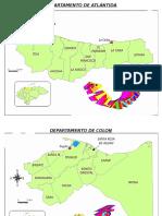 Departamentos de Honduras Individuales