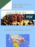 MILITARISMO ESPARTANO presentacion