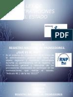 REGISTRO NACIONAL DE PROVEEDORES Y EL SEACE DE LA NUEVA LEY 30225 Y SU REGLAMENTO