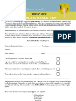 Booking Form the SoURCE