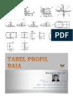 Tabel Profil Baja Baja1
