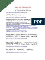 José Luis Giménez - Historia Oculta - Vídeos