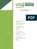 UTEL Tarea #1 Introduccion a La Quimica Fulvio Menconi 000053510