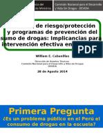 Factores de Riesgo Proteccion y Programas de Prevencion Congreso Internacional de Salud Mental y Adicciones