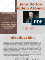 Modelo de John Dalton