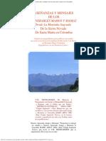 ENSEÑANZAS Y MENSAJES DE LOS VENERABLES MAMOS Y MAMAS DE LA SIERRA NEVADA DE SANTA MARTA EN COLOMBIA.pdf