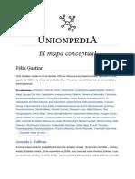 Félix Guattari, Unionpedia, Mapa Conceptual