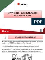 Ley 20123 Legislacion