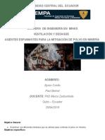 Ventilacion_Agentes_espumantes