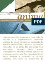 Analogias Animal e Arquitetura