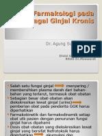 Aspek Farmakologik Pada Gagal Ginjal Kronis