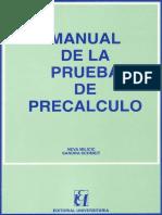 Manual Prueba de Pre Calculored