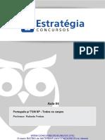 Pacote Completo p Tcm Sp Ciencias Juridicas Portugues p Tcm Sp Todos Os Cargos Aula 04