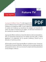 Compte rendu du séminaire Future TV n°1