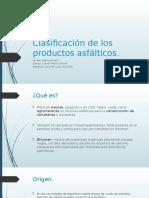 clasificacion de los productos asfalticos.pptx