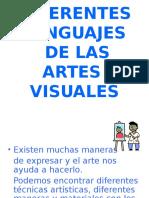 Diferentes Lenguajes de Las Artes Plasticas 2