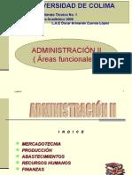 ADMINISTRACIÓN II ( MERCADOTECNIA )